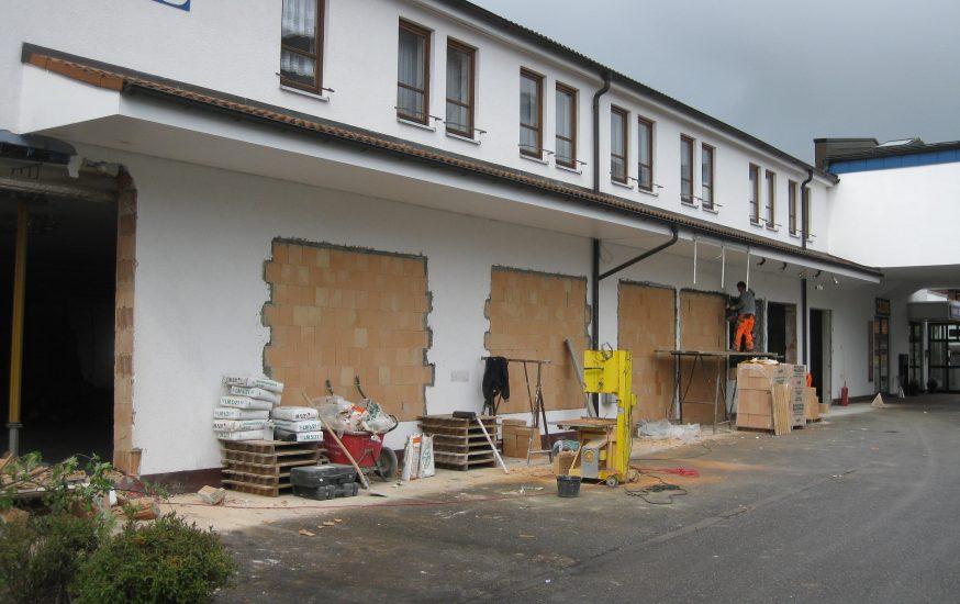 Umbau und Abbrucharbeiten