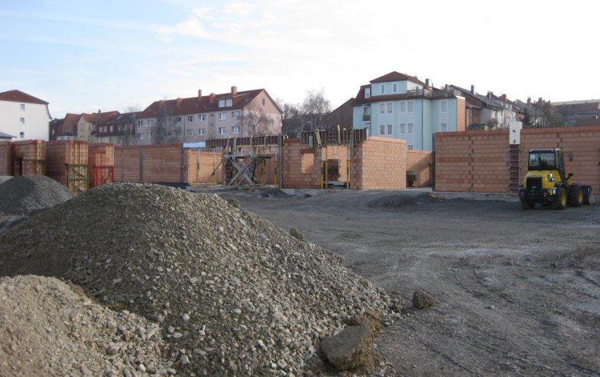 Neubau Fachmarktzentrum Mühlhausen (Thüringen)