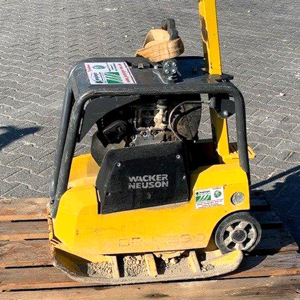 Vermietung von Baumaschinen