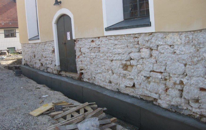 Sanierung Evangelische Stephanskirche Heuchlingen