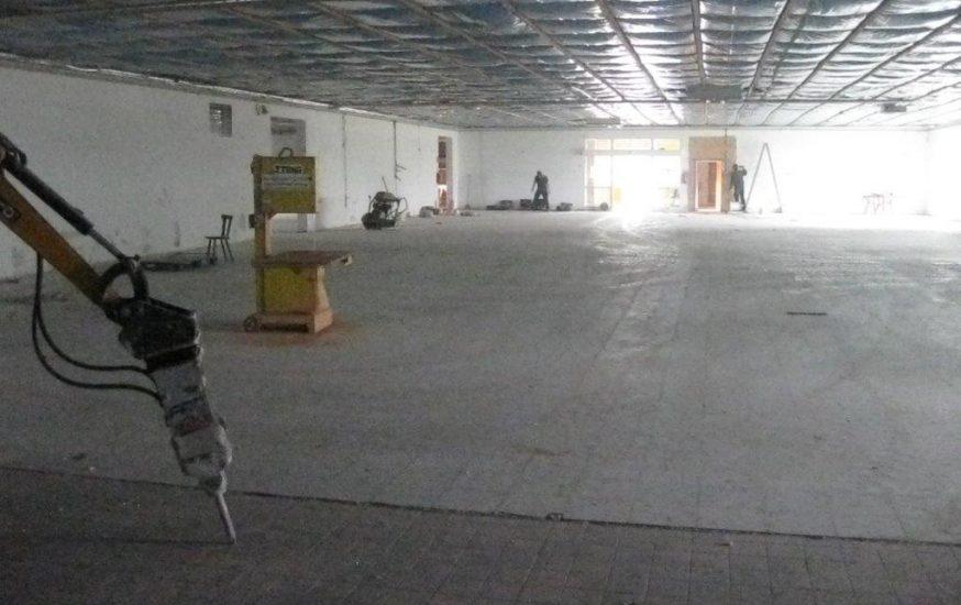 Aus Alt wird Neu – Umbauarbeiten an verschiedenen Netto-Markt Filialen.